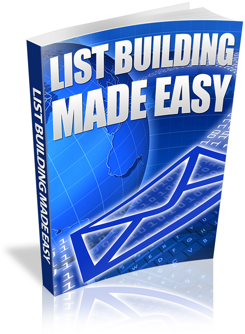 Product picture LIST BUILDING MADE EASY