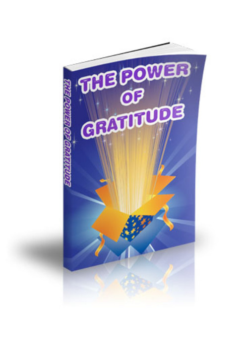 Product picture LAW OF ATTRACTION - THE POWER OF GRATITUDE