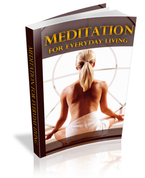Product picture MEDITATION FOR EVERYDAY LIVING